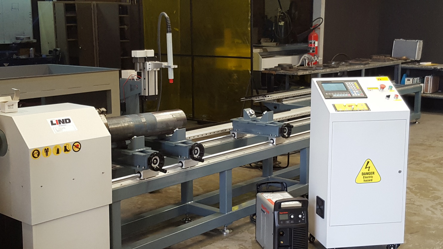 Pipe Guru Series Cutting Machinery Lind Sa Automation