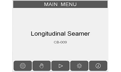Longitudinal Seam Welder